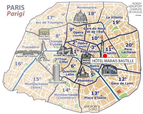 Location best western marais bastille hotel paris for Location hotel a paris